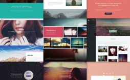 002 Incredible Download Web Template Html5 Idea  Photography Website Free Logistic Busines