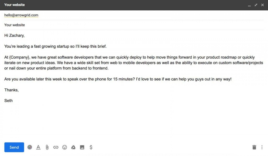 002 Incredible Follow Up Email Template After No Response Sample Large