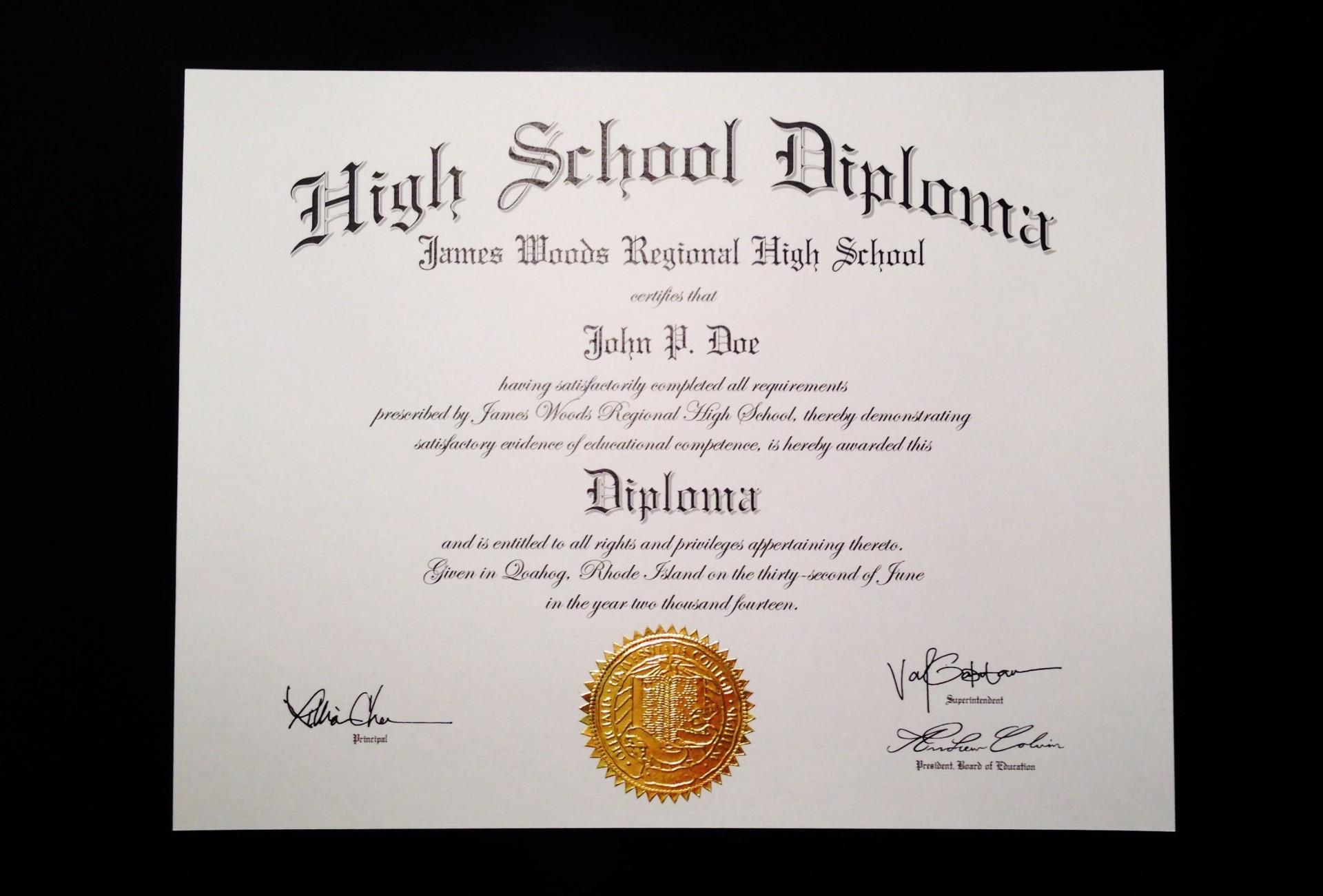 002 Incredible Free High School Diploma Template Resolution  Templates Print Out Editable Printable1920