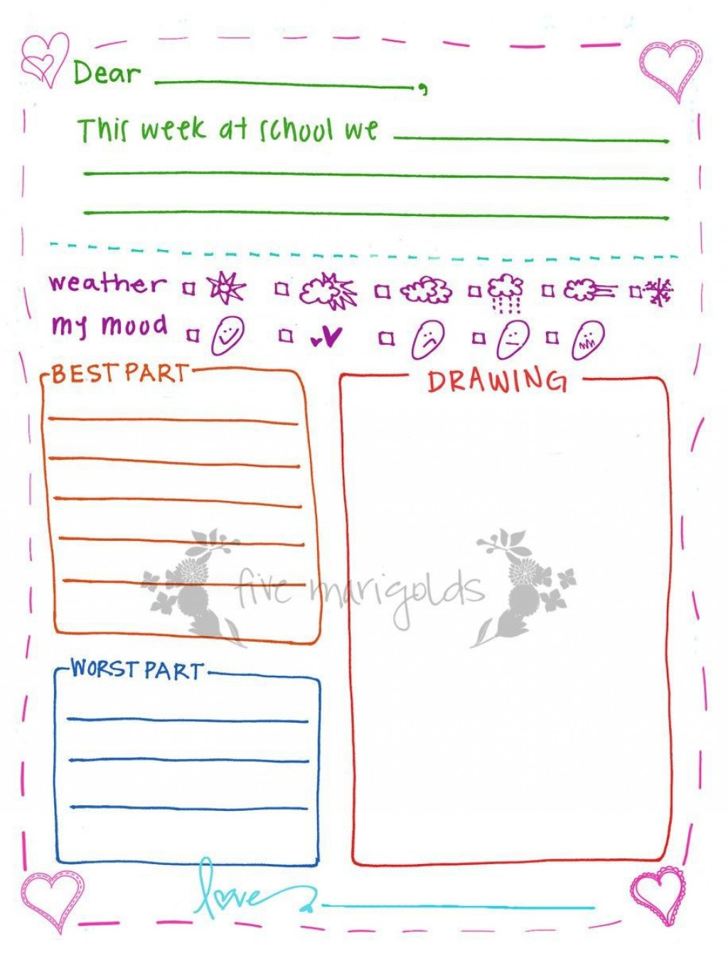 002 Incredible Free Letter Writing Template For Student Inspiration  StudentsLarge