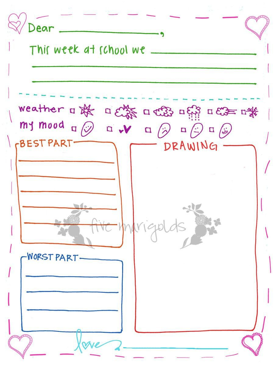 002 Incredible Free Letter Writing Template For Student Inspiration  StudentsFull