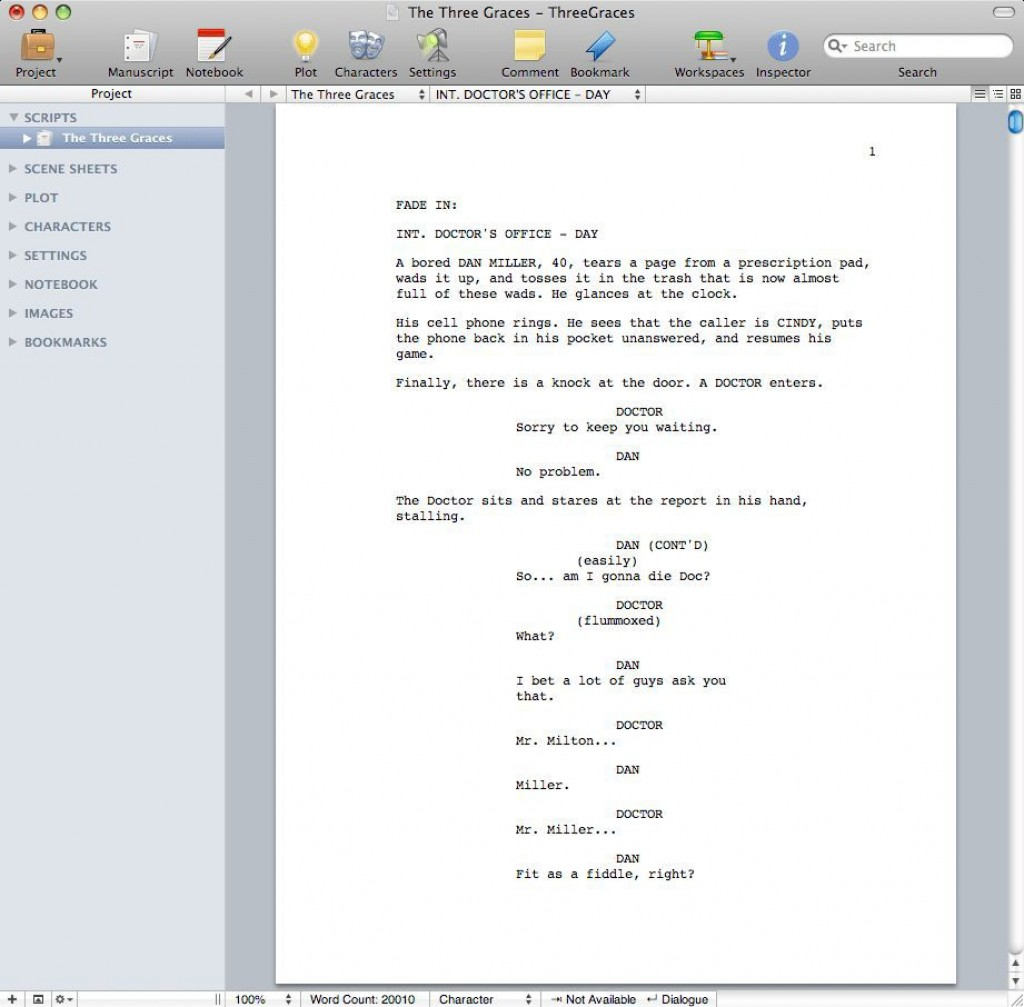 002 Incredible How To Use Microsoft Word Screenplay Template Example Large
