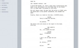 002 Incredible How To Use Microsoft Word Screenplay Template Example