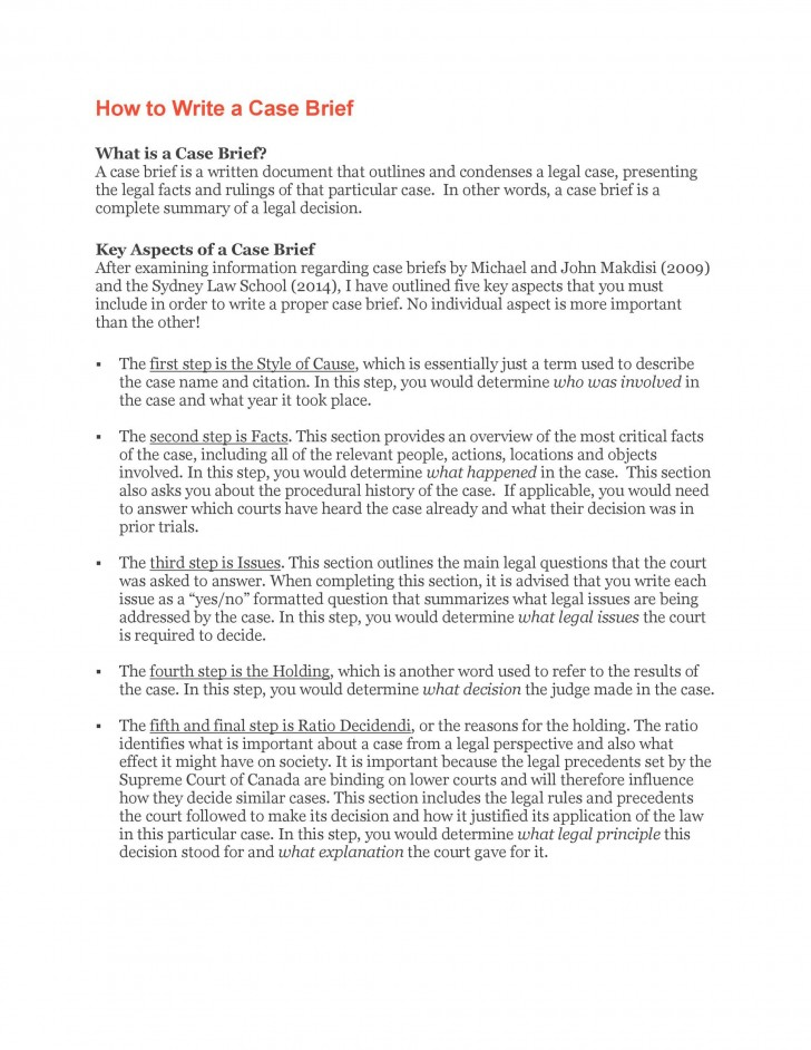 002 Incredible Legal Brief Template Word Sample  Microsoft Case728