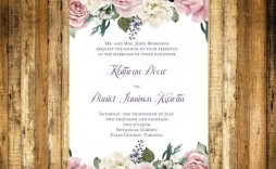 002 Incredible Microsoft Word Wedding Invitation Template Idea  Templates M Editable Free Download Chinese