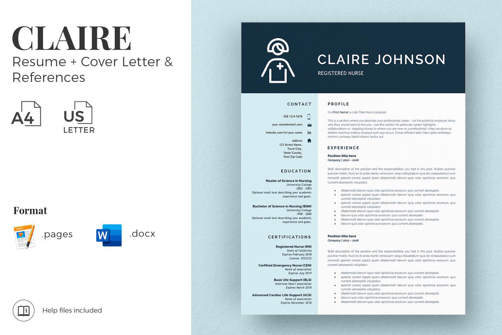 002 Incredible Nurse Resume Template Word High Definition  Cv Free Download RnFull
