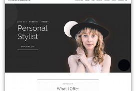002 Incredible Personal Website Template Bootstrap Sample  4 Free Download Portfolio