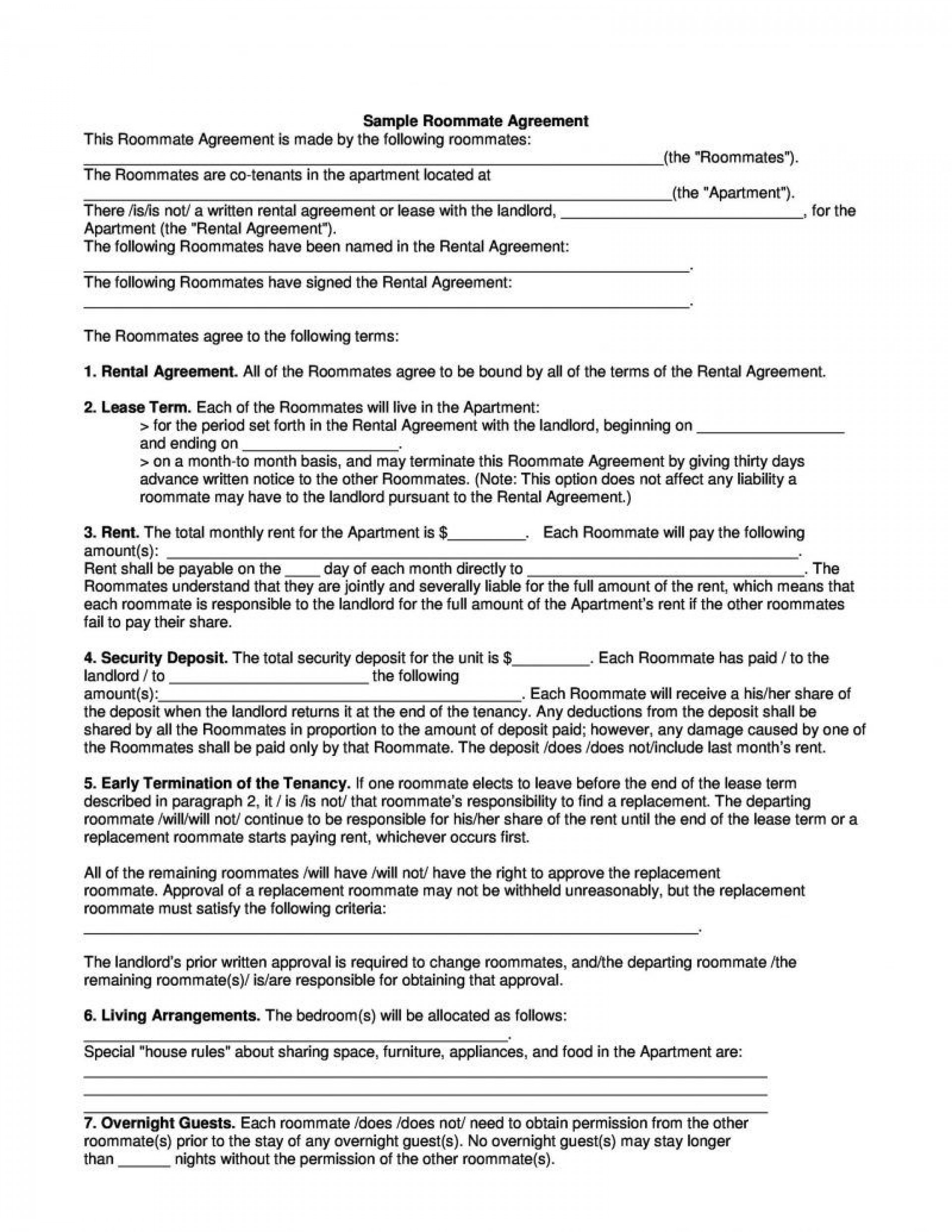 002 Incredible Rental House Contract Template Free Image  Agreement Form Property Lease1920