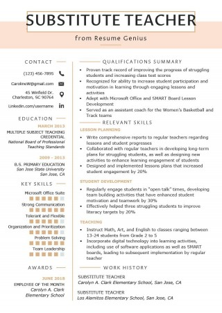 002 Incredible Resume Template For Teacher Picture  Australia Microsoft Word Sample320