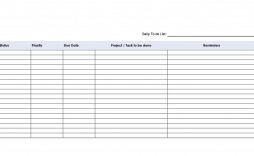 002 Incredible Task List Template Word Concept  Weekly Document