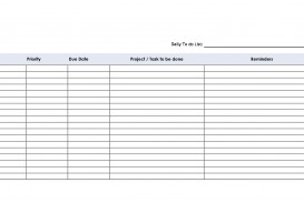 002 Incredible Task List Template Word Concept  Weekly Employee Work
