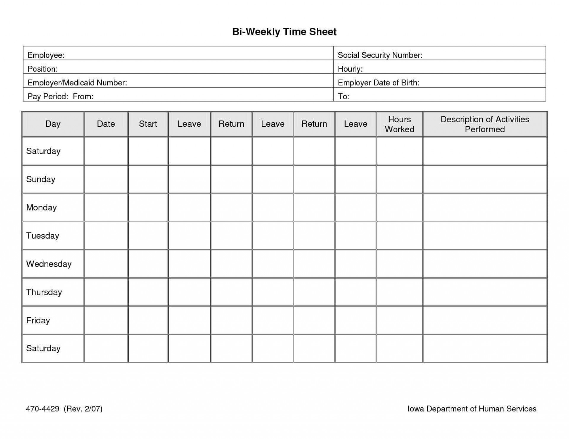 002 Incredible Time Card Template Free Image  Calculator Excel Monthly Biweekly Timesheet1920