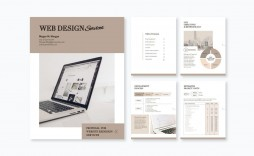 002 Incredible Web Design Proposal Template Free Download High Def