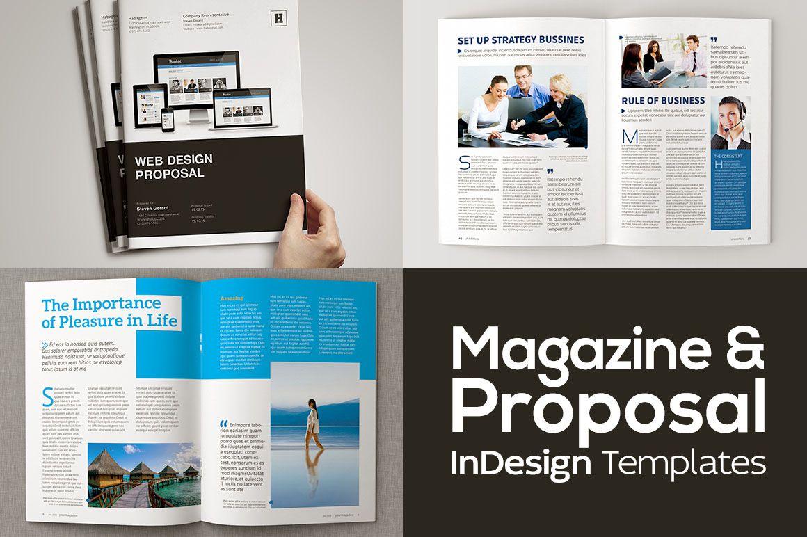 002 Incredible Web Design Proposal Template Indesign Full