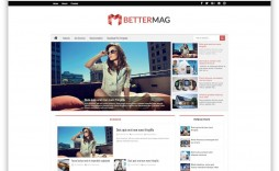 002 Magnificent Best Free Responsive Blogger Template Sample  2019 Mobile Friendly Top