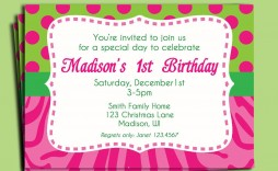 002 Magnificent Birthday Invitation Wording Sample 5 Year Old High Definition