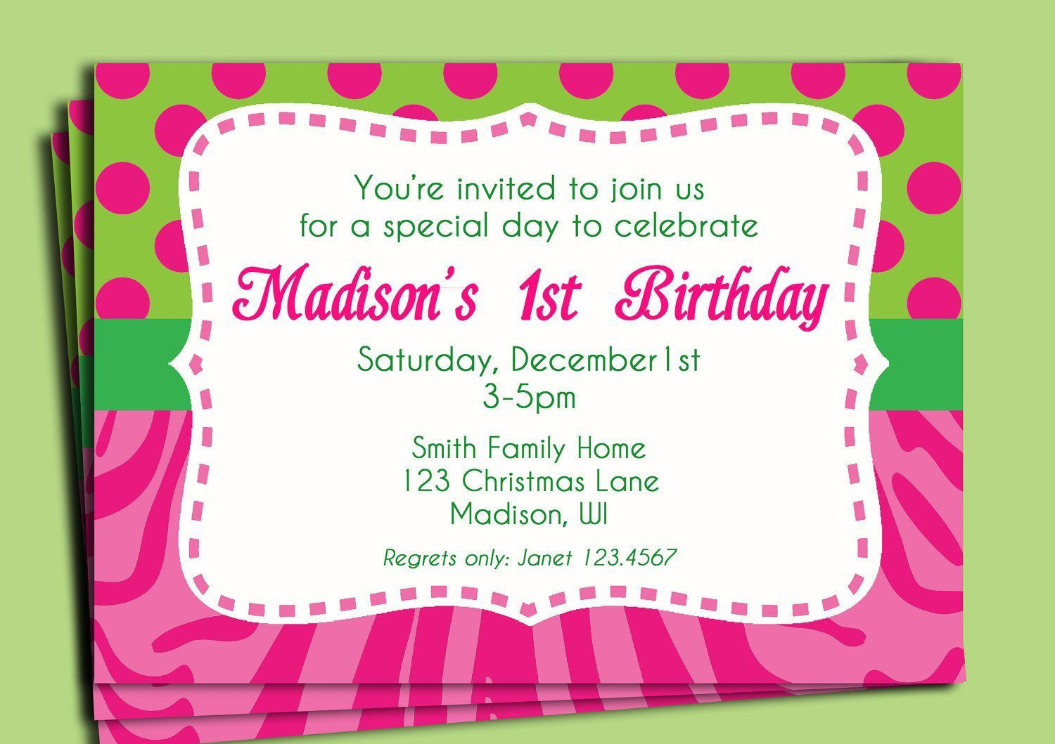 002 Magnificent Birthday Invitation Wording Sample 5 Year Old High Definition Full