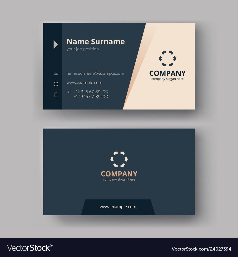 Magnificent Business Card Free Template