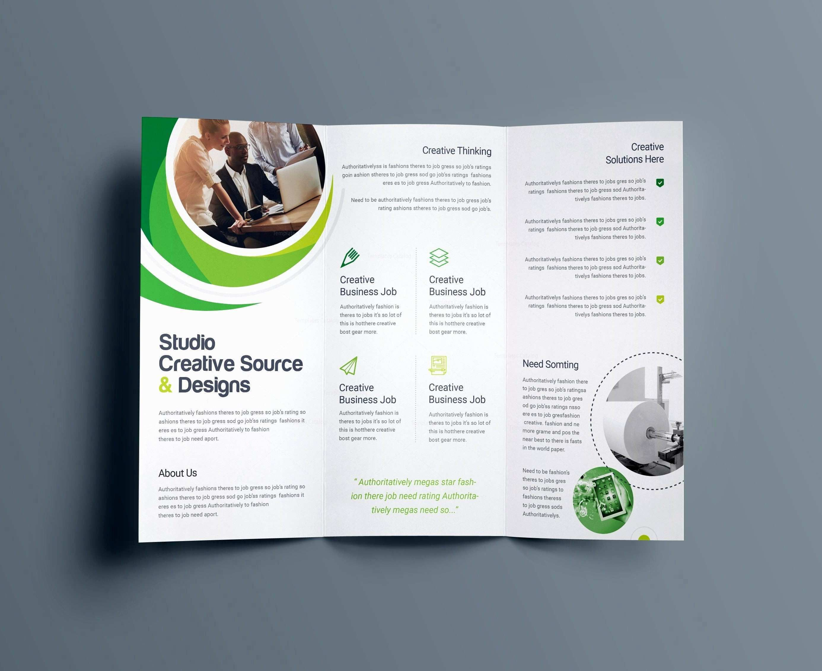 002 Magnificent Busines Flyer Template Free Printable Idea Full