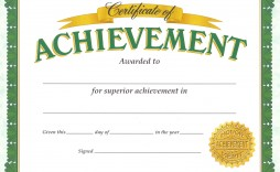 002 Magnificent Certificate Of Achievement Template Free High Definition  Award Download Word