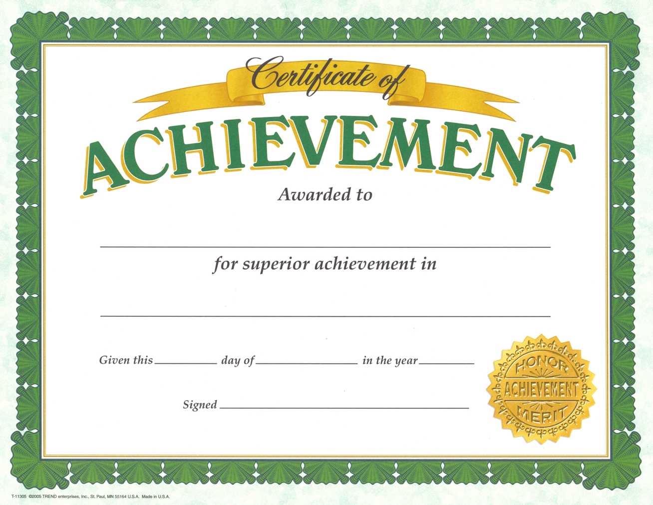 002 Magnificent Certificate Of Achievement Template Free High Definition  Award Download WordFull