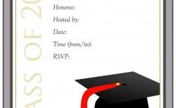 002 Magnificent Diy Graduation Announcement Template Free High Definition  Invitation
