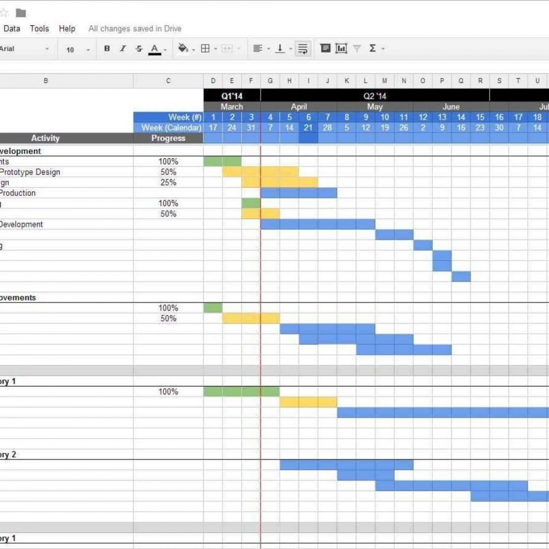 002 Magnificent Excel Project Management Template Highest Quality  With Dependencie Gantt Schedule Creation Microsoft Office1920