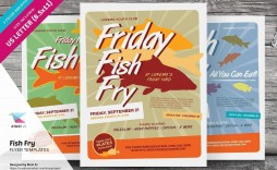 002 Magnificent Fish Fry Flyer Template Idea  Printable Free Powerpoint Psd