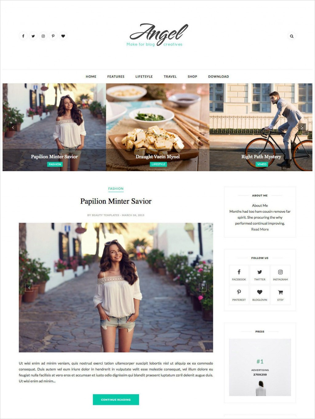 002 Magnificent Free Best Blogger Template 2015 Image Large