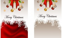 002 Magnificent Free Download Holiday Card Template Picture  Templates
