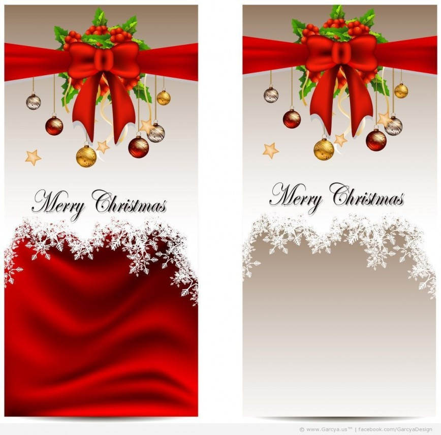 002 Magnificent Free Download Holiday Card Template Picture 868