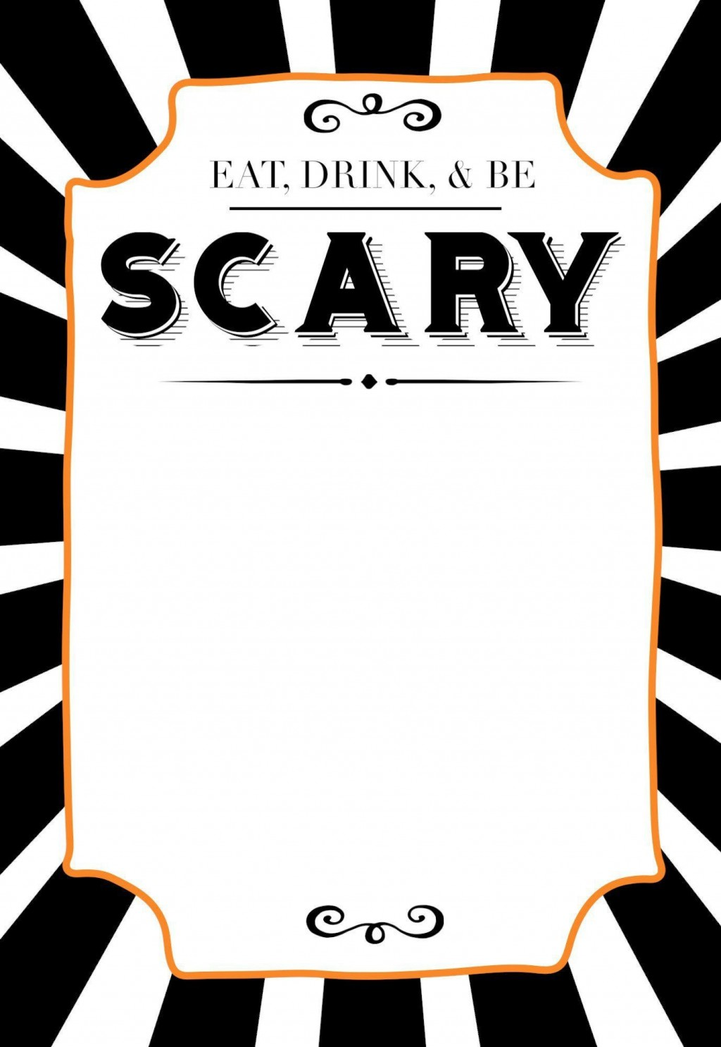 002 Magnificent Free Halloween Invitation Template High Definition  Templates Online Printable Birthday Party WeddingLarge