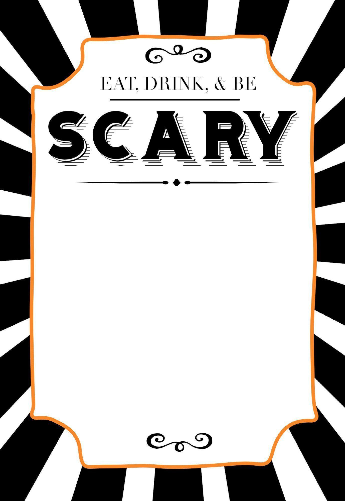 002 Magnificent Free Halloween Invitation Template High Definition  Templates Online Printable Birthday Party WeddingFull