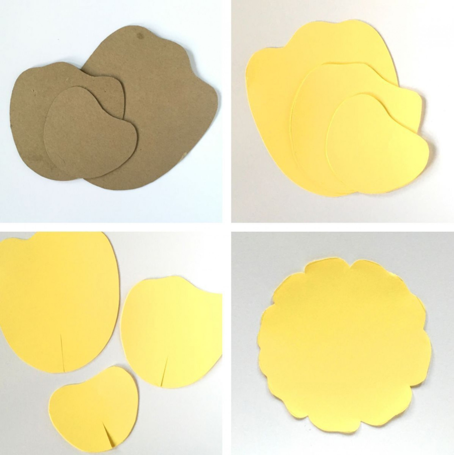 002 Magnificent Free Printable Diy Paper Flower Template Picture  Templates1920