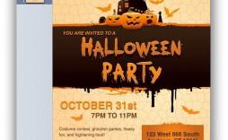 002 Magnificent Halloween Invitation Template Microsoft Word Highest Clarity  Birthday Free