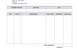 002 Magnificent Invoice Template Printable Free Word Doc Inspiration