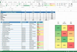 002 Magnificent Multiple Project Tracking Template Xl Picture  Spreadsheet Excel