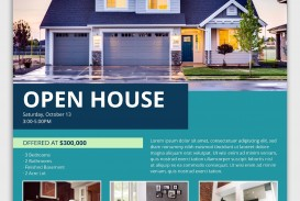 002 Magnificent Open House Flyer Template High Def  Word Free School Microsoft
