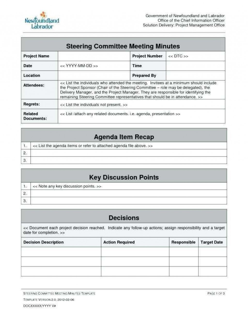 002 Magnificent Project Management Kick Off Meeting Agenda Template Highest Quality  KickoffLarge