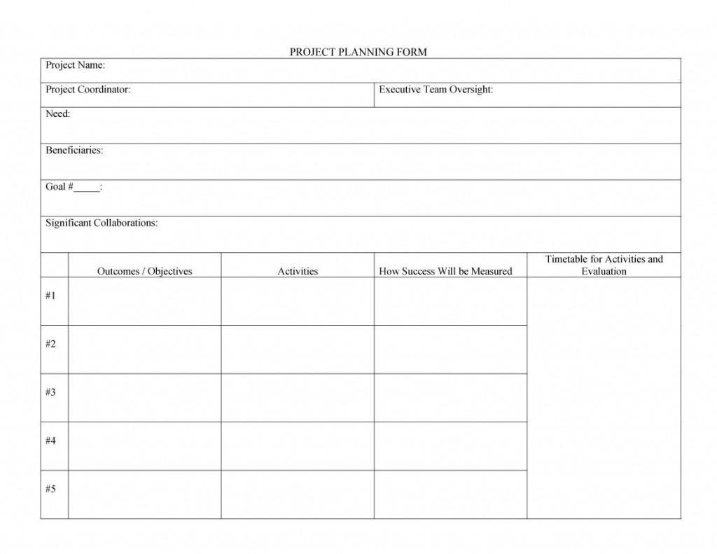 002 Magnificent Project Planning Template Word Free Idea  Simple Management Plan ScheduleLarge