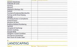 002 Magnificent Property Management Maintenance Checklist Template Image  Free