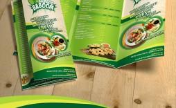002 Magnificent Tri Fold Menu Template Free Design  Wedding Tri-fold Restaurant Food Psd Brochure Cafe Download