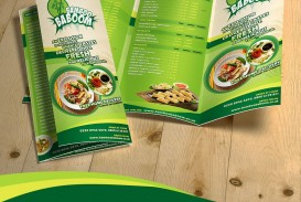 002 Magnificent Tri Fold Menu Template Free Design  Wedding Tri-fold Restaurant Food Psd Brochure Cafe Download