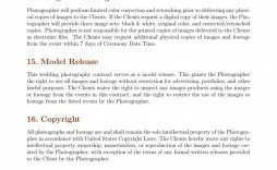 002 Magnificent Wedding Photographer Contract Template Concept  Free Photography Uk