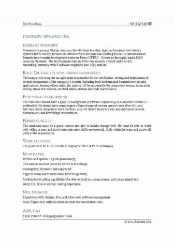 002 Magnificent Writing A Job Proposal Template Sample High Def 360