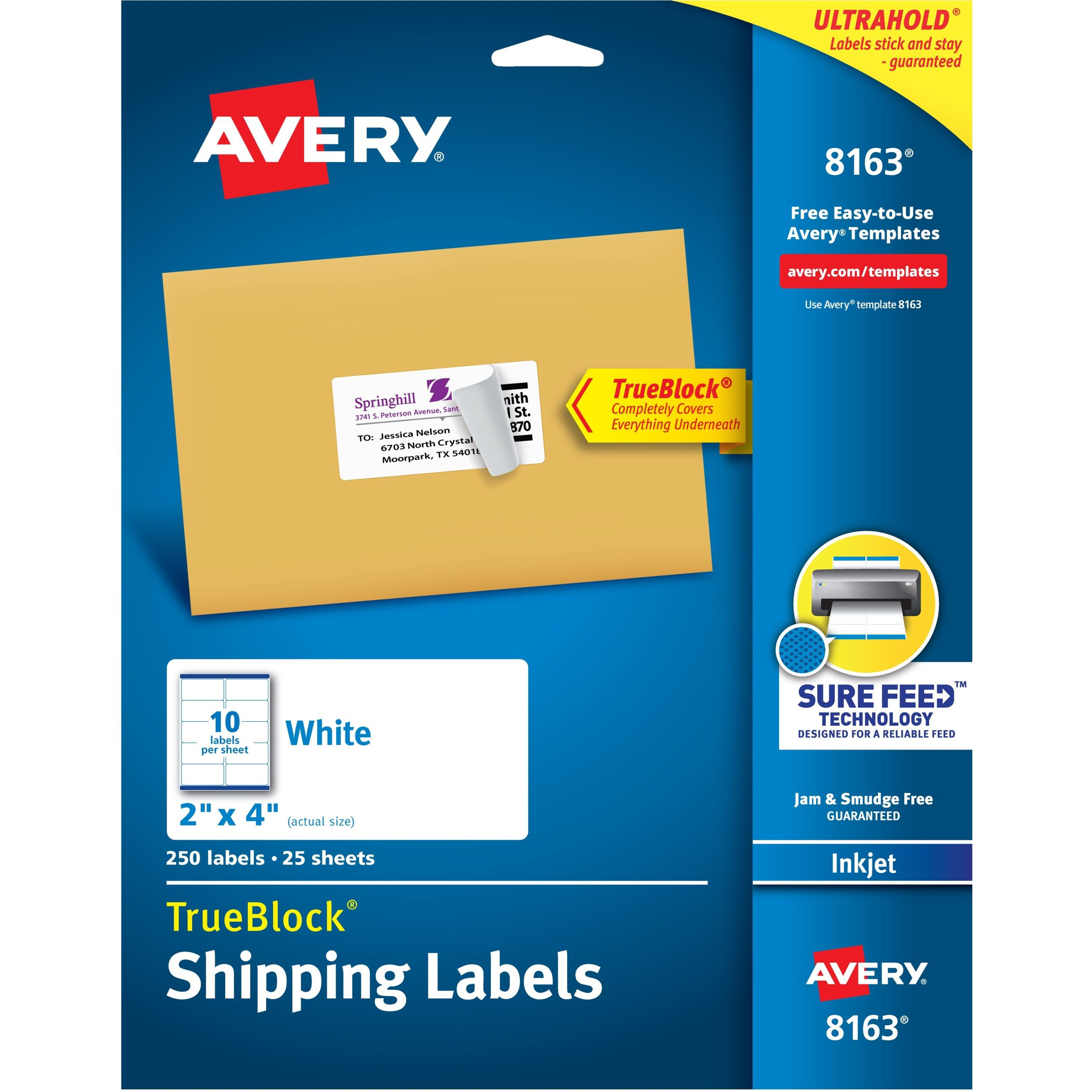 002 Marvelou Free Avery Addres Label Template For Mac High Definition  5160Full