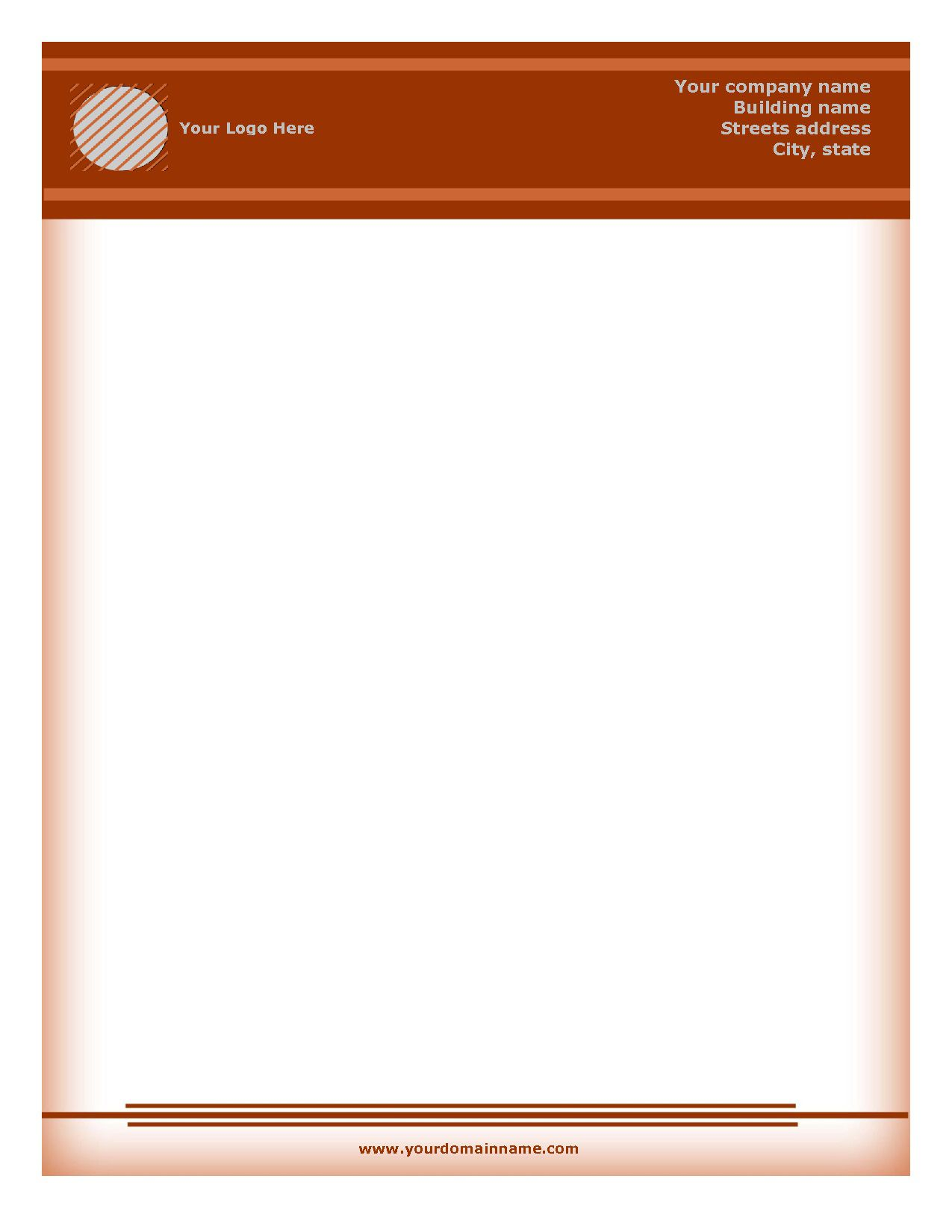 002 Marvelou Free Letterhead Template Download High Definition  Word Psd SampleFull