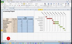 002 Marvelou Gantt Chart Template In Excel 2020 Highest Clarity  Free