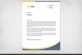 002 Marvelou Letterhead Template Free Download Doc Example  Company Format