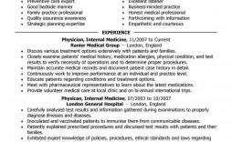 002 Marvelou Medical Resume Template Free Idea  Receptionist Cv Coder